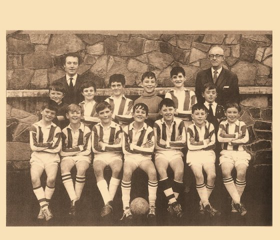 Soccer team 1967/1968 Jim Campbell and Dermott (Dickie) Mc Dermott