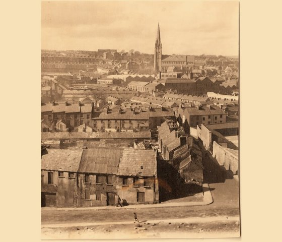 View of The Bogside from Derry\'s Walls