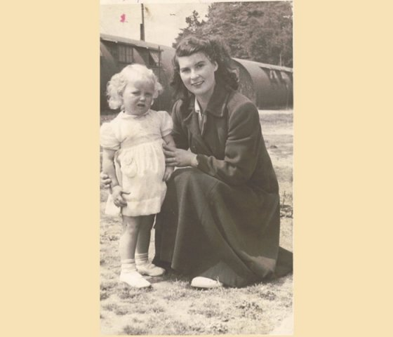 Mary Gallagher And her daughter Mardie