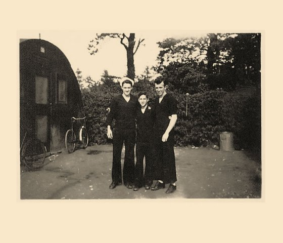 Joe, Willy and Van 1944