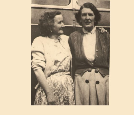 Mary McClean and Molly Killen