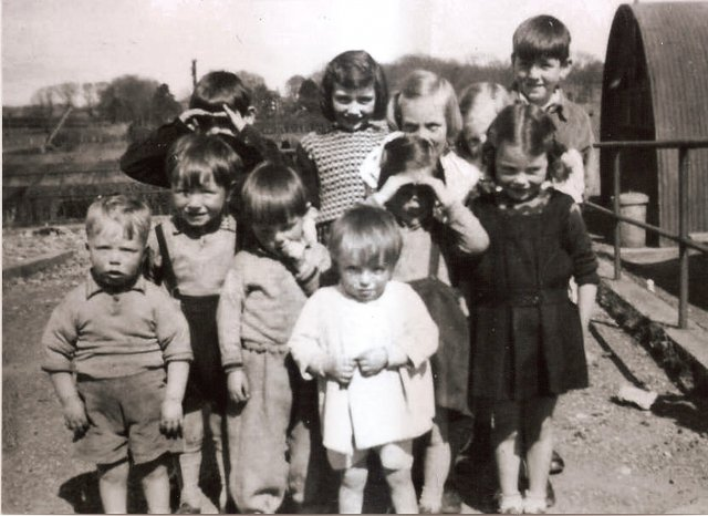 Summers day 1951 included Carmel ,Michael and John Kerrigan with Maureen,ann,kay and Bernie Duddy